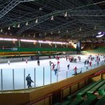 ice skating rink promotes energy conservation