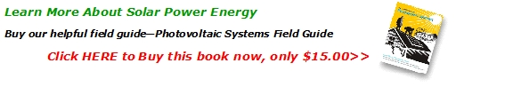 Photovoltaic Systems Field Guide