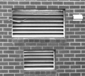Installing larger than necessary combustion-air louvers is expensive and wastes energy.