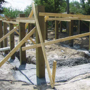Consider a flood-resistant foundation as a permanent solution to flood damage.