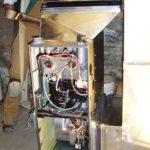 Installing a 90+ efficient furnace
